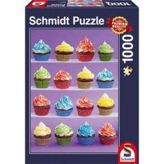 Schmidt Spiele Puzzles Puzzle: 1000 Cupcake Delight