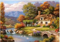Anatolian Puzzles Puzzle: 1000 Cottage Stream