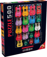 Anatolian Puzzles Puzzle: 500 Colored of Music