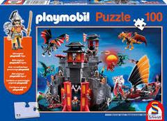 Schmidt Playmobil Puzzle 100 piece: Asian Dragon- 6+- 56074