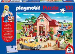 Schmidt Playmobil Puzzle 100 piece: At The Vet- 6+- 56091