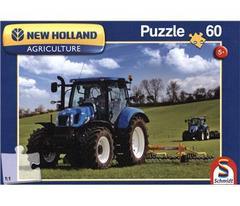 Schmidt Spiele Puzzles Puzzle: 60 piece New Holland T8- 5+ - 56082