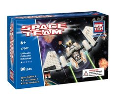 BricTek - Space Team - Space Fighter 4 - Ages 6+