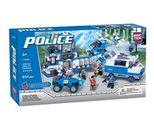 BricTek - Police - Police Station - Ages 6+