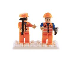 BricTek - Figurines - Construction Duo - Ages 6+