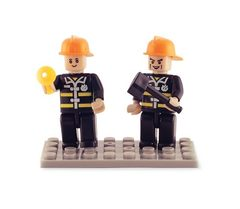 BricTek - Figurines - Fire Brigade Duo - Ages 4+