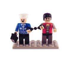 BricTek - Figurines - Space Duo - Ages 4+
