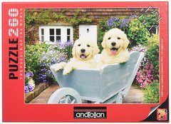 Anatolian Puzzles Puzzle: 260 Puppies in a Wheelbarrow
