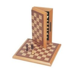 Wood Expressions Wooden Chess Set 12