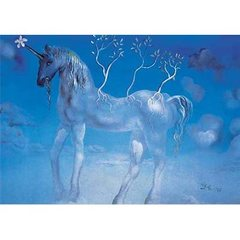 Ricordi Puzzles Puzzle: 2000 L'Unicorne Allegre - Salvador Dali