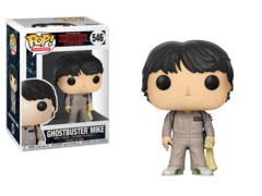 Funko POP Vinyl Figure Television Stranger Things - Mike Ghostbusters 546