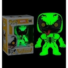 Funko POP Vinyl Bobble-Head Figure Marvel - Anti-Venom (Glow in the Dark) 100 - BoxLunch EXCLUSIVE