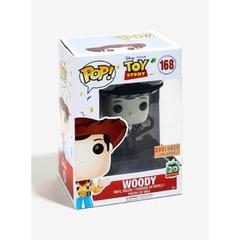 Funko POP Vinyl Figure Disney Pixar Toy Story 20th Anniversary - Woody (Black & White) 168 - BoxLunch EXCLUSIVE