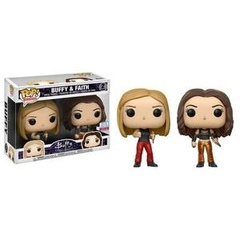 Funko POP Television Vinyl Figure Buffy the Vampire Slayer - Buffy & Faith (Two Pack) 2 - New York Comic Con EXCLUSIVE