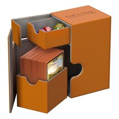 Ultimate Guard FLIP'n'TRAY DECK CASE 100+ - orange