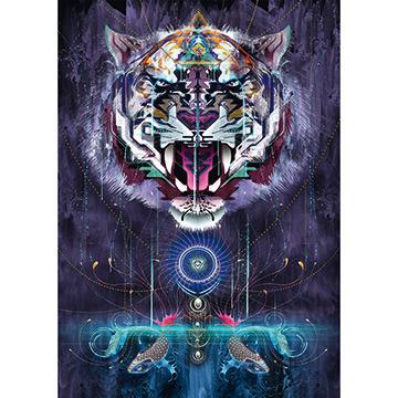 Schmidt Spiele Puzzles Puzzle: 1000 Snarling Tiger