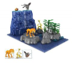 Ice Age Sid, Diego, Scrat - 227 pieces