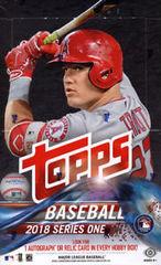 2018 Topps MLB Baseball Series 1 - Hobby Pack
