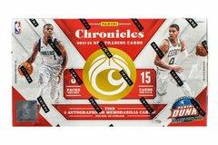 2017-2018 NBA Panini Chronicles Hobby Box - 3 packs per Box