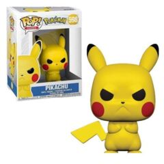 Funko POP Games Vinyl Figure Pokemon - Pikachu (Angry) 598
