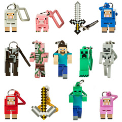 Large Minecraft Figures (Clip On Hangers and Constructions)