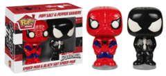 POP! Home Ceramic Salt & Pepper Shakers Marvel Spider-Mann - Spider-Man and Black Spider-Man