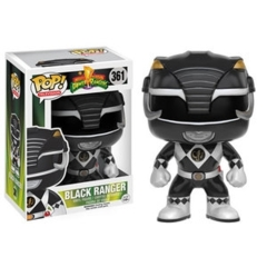 Funko POP Vinyl Figure Television Mighty Morphin Power Rangers - Black Ranger 361