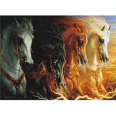Anatolian Puzzle -  The Four Horses of the Apocalypse 1000 pc