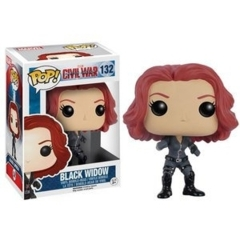Funko POP Vinyl Bobble-Head Figure Marvel Captain America Civil War - Black Widow 132