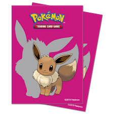 Pokemon Ultra PRO Pokemon Sleeves 65ct Pack Eevee 2019