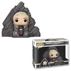 Funko POP Rides Vinyl Figure Game of Thrones Daenerys Targaryen on Dragonstone Throne 63