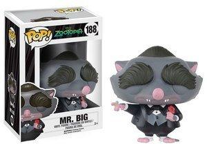 Funko POP Vinyl Figure Disney Zootopia Mr. Big 188
