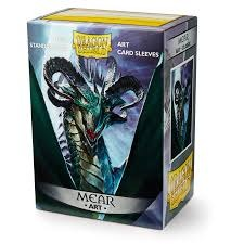 Dragon Shield Sleeves: Art Classic Mear (Box Of 100) - Limited Edition