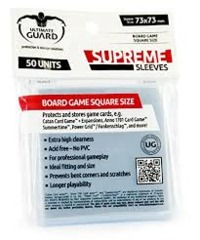 Ultimate Guard Supreme Square Board Game Sleeves (73mmx73mm)