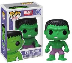 Funko POP Vinyl Bobble-Head Figure Marvel Universe The Hulk 08