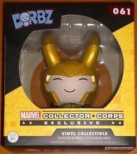 Funko Dorbz Vinyl Sugar Marvel Collector Corps Exclusive Loki 061