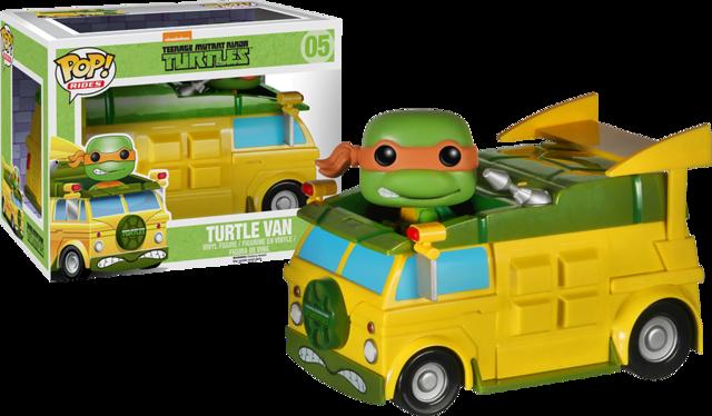 Funko POP Vinyl Figure TMNT Teenage Mutant Ninja Turtles Turtle Van 05 - VAULTED