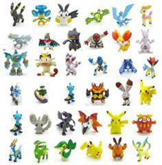 Small Pokemon Figures / Pokemon Stickers 5 for 3$