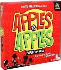 Apples to Apples Party in a Box - All New Cards