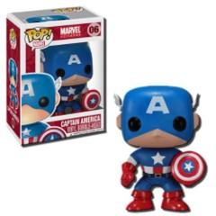 Funko POP Vinyl Bobble-Head Figure Marvel Universe Captain America 06