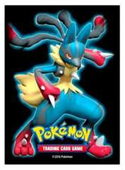 POKEMON CARD SLEEVES - MEGA LUCARIO