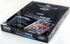Ultra Pro 9 Pocket Binder Pages Platinum - Box of 100