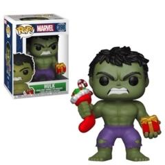 Funko POP Vinyl Bobble-Head Figure Marvel - Hulk (With Present) 398