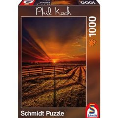 Schmidt Puzzle Phil Koch The Evening Stillness - 1000 pc