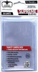 Ultimate Guard: Board Game Sleeves: Tarot Size 73x122mm