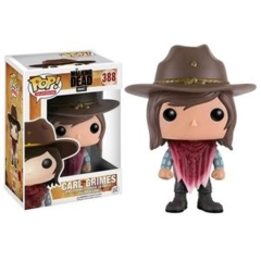 Funko POP Vinyl Figure AMC The Walking Dead Carl Grimes (Poncho) 388