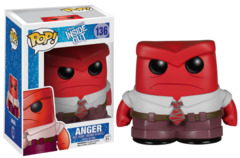 Funko POP Vinyl Figure Disney Pixar Inside Out Anger 136