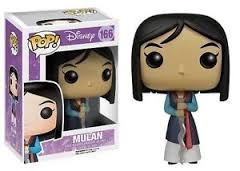 Funko POP Vinyl Figure Disney Series 8 - Mulan - Mulan 166