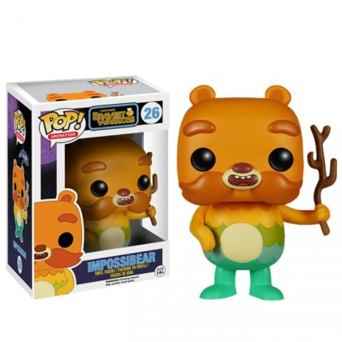 Funko POP Vinyl Figure Animation Cartoon Hangover Bravest Warriors - Impossibear 26