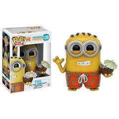 Funko POP Games Vinyl Figure Despicable ME Minions Paradise - Phil 120